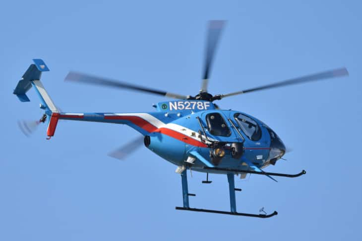 MD Helicopters MD 500E