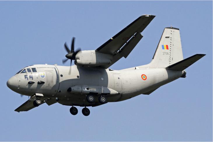 Romania Air Force Alenia C 27J Spartan
