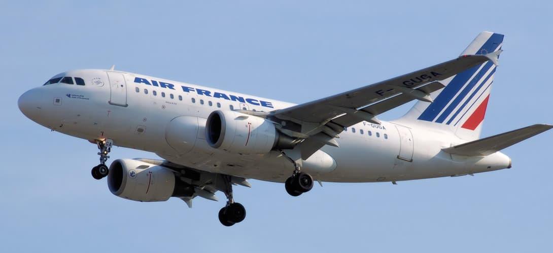 Air France Airbus A318 100