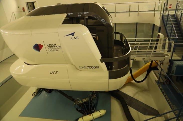 CAE L410 Level D Flight Simulator exterior