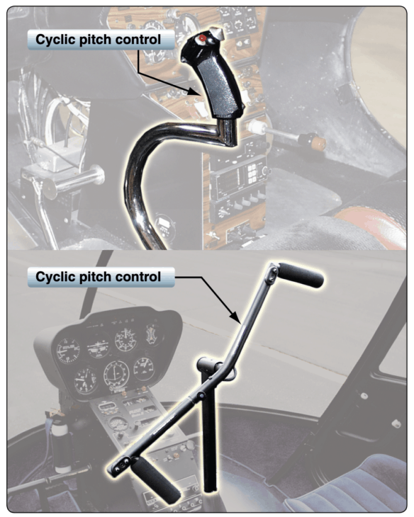 Helicopter cyclic control