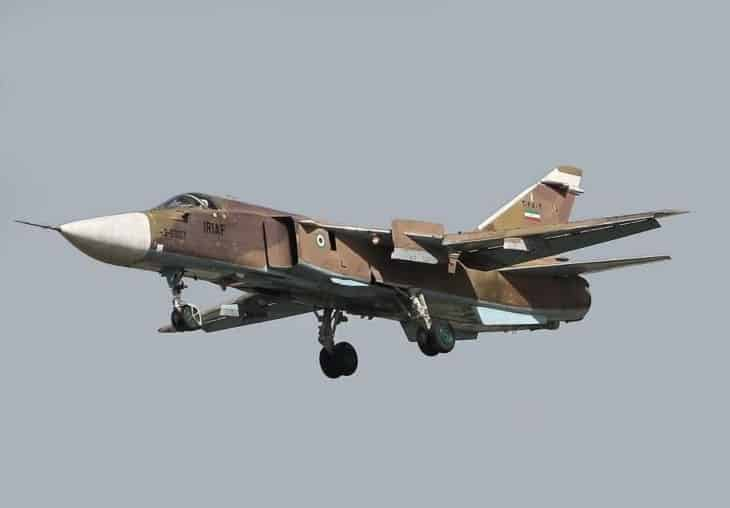 Iran Air Force Sukhoi Su 24MK Fencer D