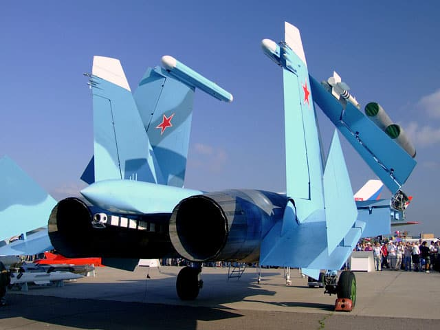 MAKS Airshow 2007. Su 33