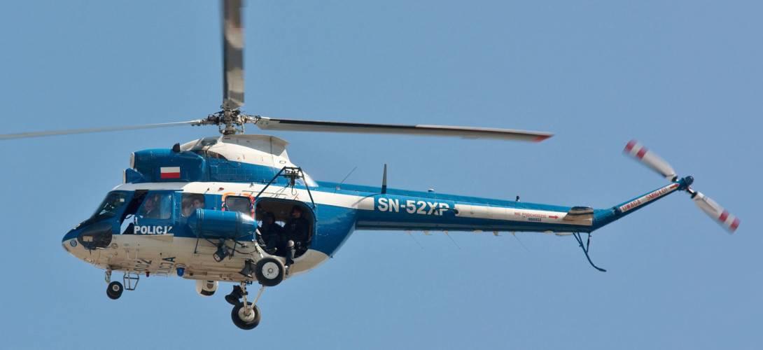 PZL Kania Police helicopter