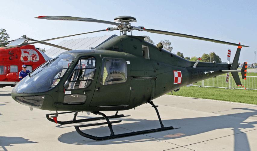 Polish Air Force PZL Swidnik SW 4