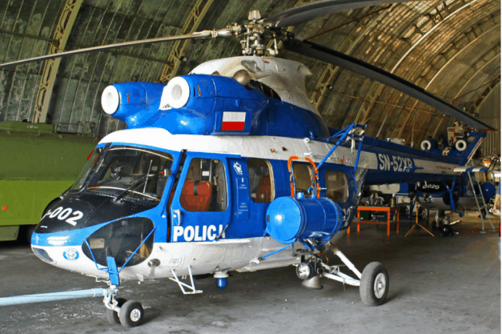 Polish Police PZL Swidnik Kania