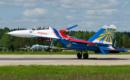 Russia Air Force Sukhoi Su 27UB.