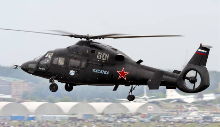 Russian Air Force Kamov Ka 60