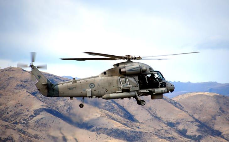 SH 2G Seasprite Helicopter.