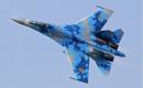 Ukraine Air Force Sukhoi Su 27UB Flanker