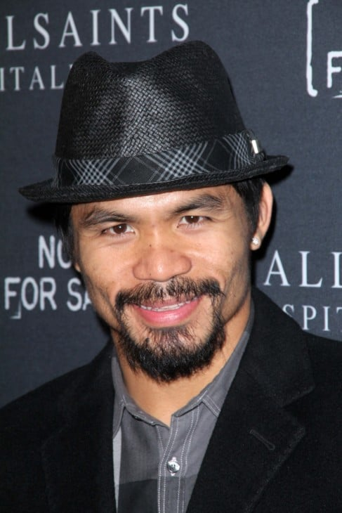 11629660 manny pacquiao at the allsaints spitalfields and not for sale collection launch the music box hollywood ca 10 24 11imagecollect