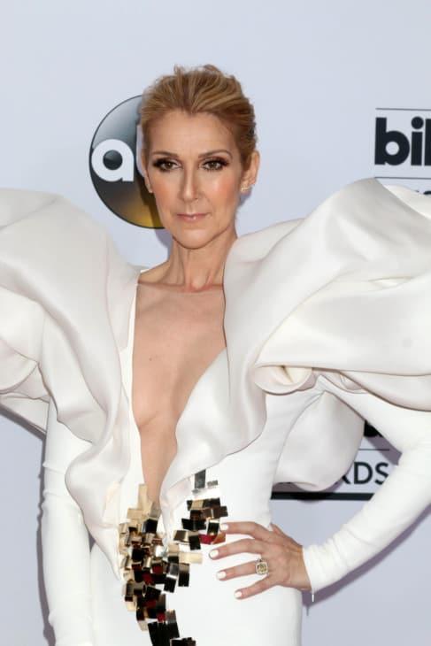 Celine Dion at the 2017 Billboard Awards Press Room