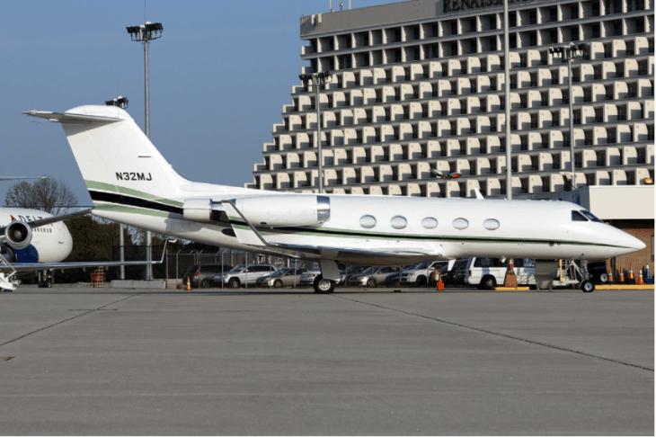 Gulfstream 3 of Magic Johnson