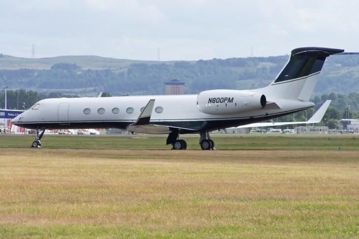 Gulfstream V of Phil Mickleson