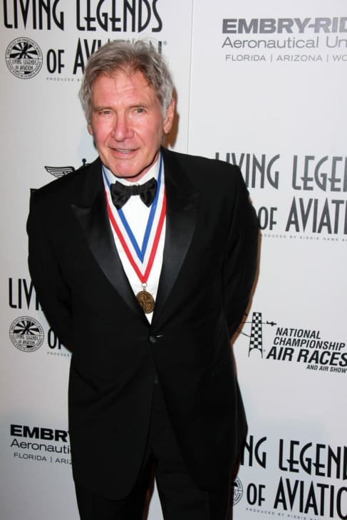 Harrison Ford at the 12th Annual Living Legends of Aviation Awards