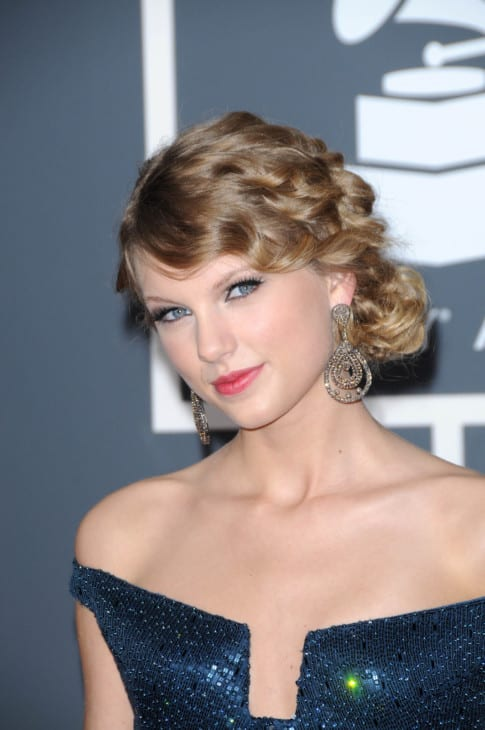 Taylor Swift at the 52nd Annual Grammy Awards