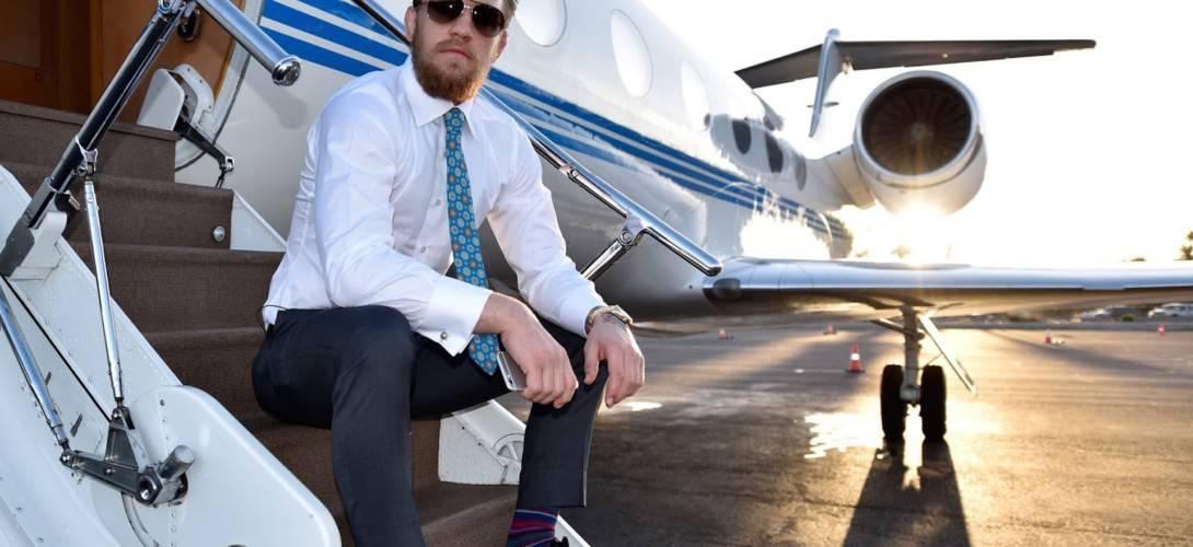 Conor McGregor Private Jet