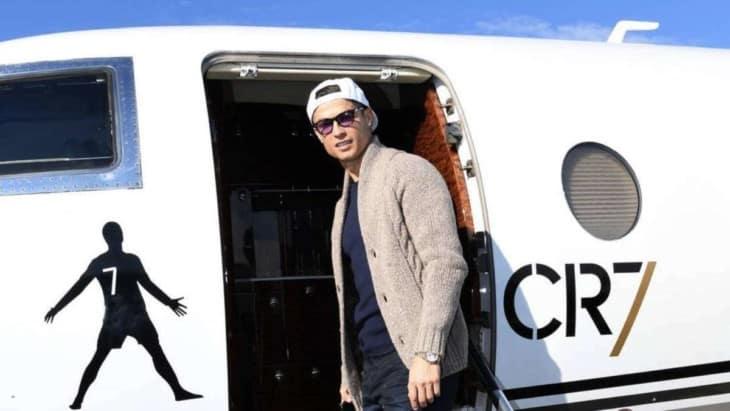 Cristiano Ronaldo Private Jet CR7