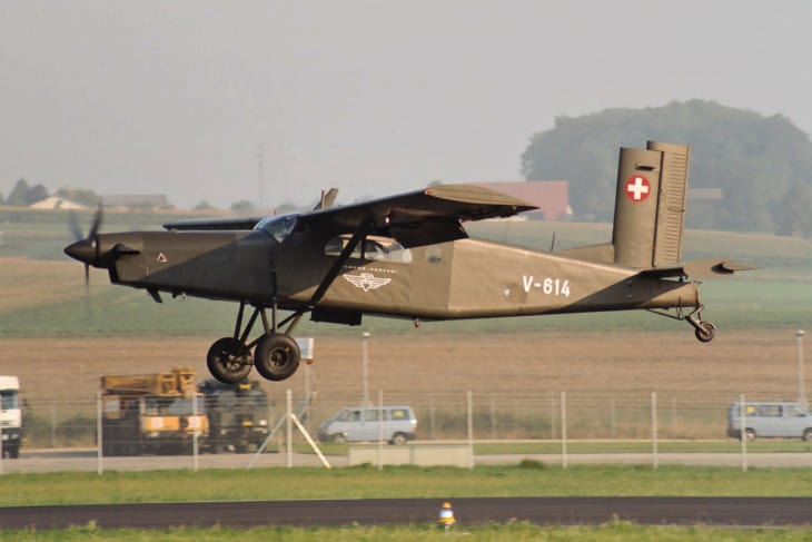 Switzerland Air Force Pilatus PC 6 Porter