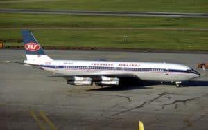 Boeing 707 Yugoslav airlines