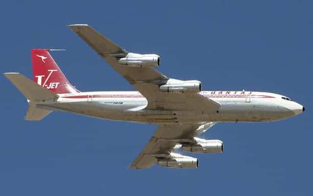 Boeing 707 Qantas