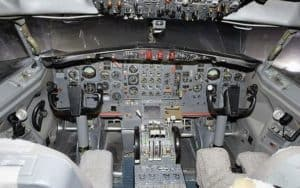 Boeing 727 Flight deck