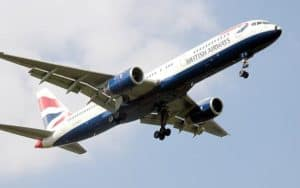 Boeing 757 British AIrways