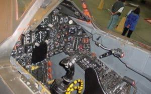 Lockheed SR-71 Blackbird cockpit