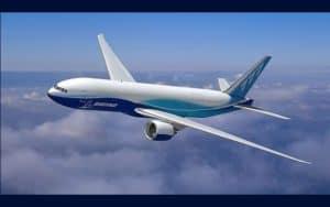 Boeing 777 Freighter flight