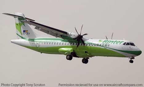 ATR 42-500 green