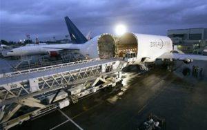 Boeing Dreamlifter loading