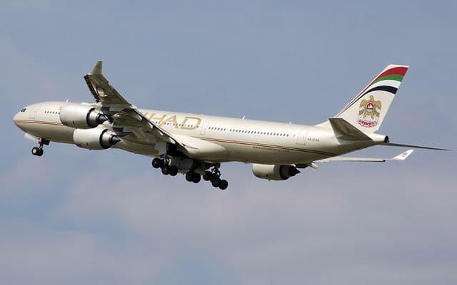 Airbus A340-500 Etihad