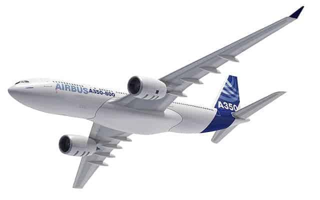 Airbus A350 XWB flight