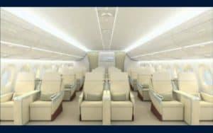 Airbus A350 XWB interior