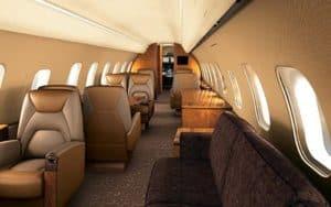 Bombardier Global 5000 interior