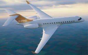 Bombardier Global Express XRS flight