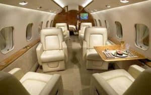 Bombardier Global Express XRS interior