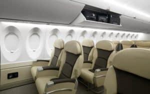 Bombardier CS300 interior
