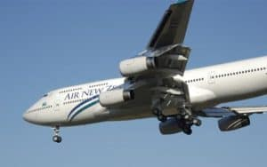Boeing 747 400 air new zealand
