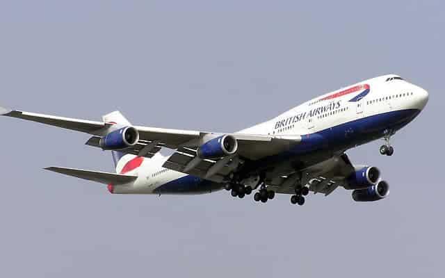 Boeing 747 400ER british airways
