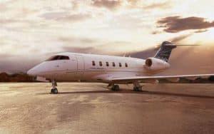 Bombardier Challenger 300 standing proud