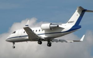 Bombardier Challenger 605 landing gear