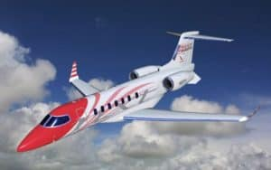 Bombardier Learjet 85 flight