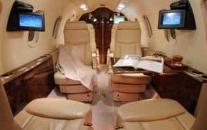Bombardier Learjet 40XR interior