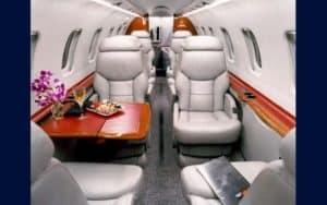 Bombardier Learjet 45 XR interior