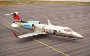 Bombardier Learjet 60XR grounded