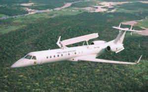 Emb 145 AEW flight