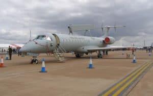 Emb 145 AEW ground display