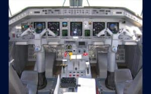 Embraer P-99 cockpit flight deck