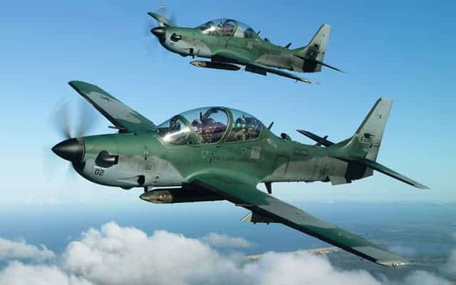 Embraer Super Tucano Twins